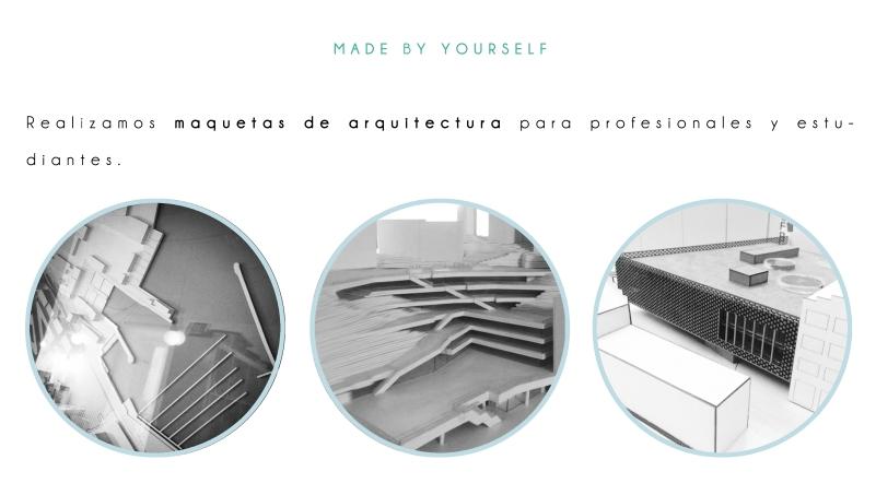 Maquetas para proyectos fin de carrera y para estudios profesionales en Bilbao y alrededores.